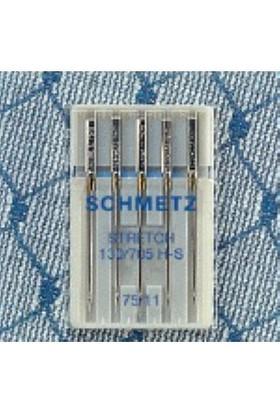 Schmetz Elastik Kumaşlar İçin Dikiş İğnesi 90 Numara 5'li Paket