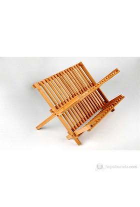 Efemark Katlanır Bambu Tabaklık