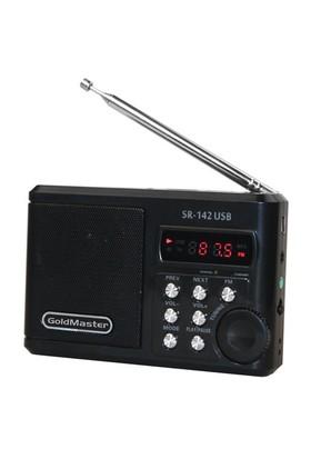 Goldmaster SR-142 Usb/Mikro SD Radyo