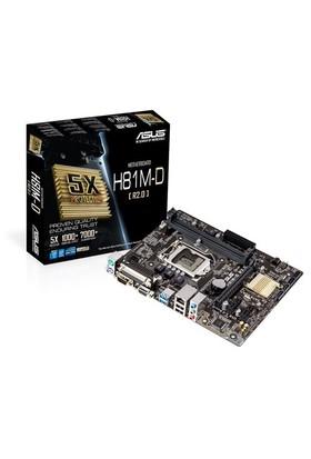 Asus H81M-D R2.0 Intel Z81 1600MHz DDR3 Soket 1150 mATX Anakart
