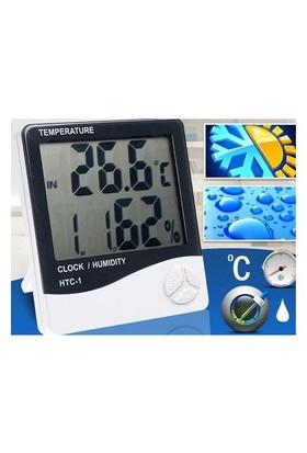Bluezen Masaüstü Dijital Termometre + Nem Ölçer Higrometre