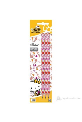 Bic Hello Kitty Evolutıon 650 Kurşun Kalem 3'Lü Blister