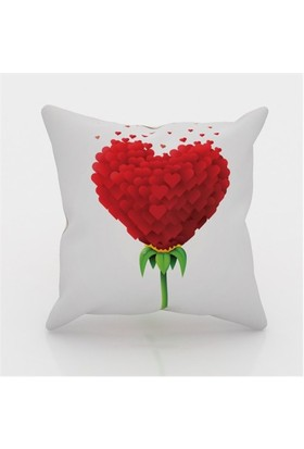 Erenev 9141 Gülün Aşkı Dekoratif Yastık