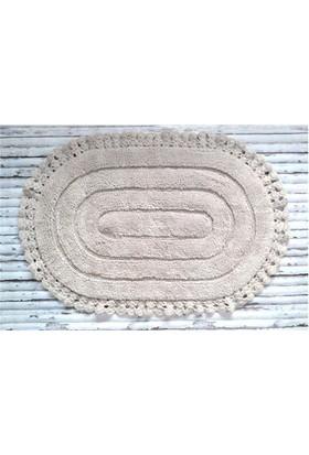Giz Home Lace Banyo Paspası 60X90 Taş