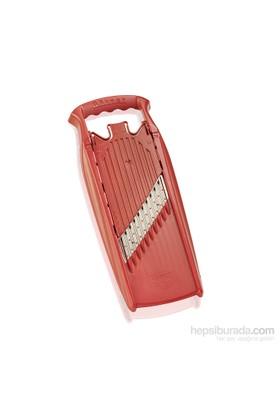 Börner Welle-Waffel Powerline Dekoratif Rende, Kırmızı