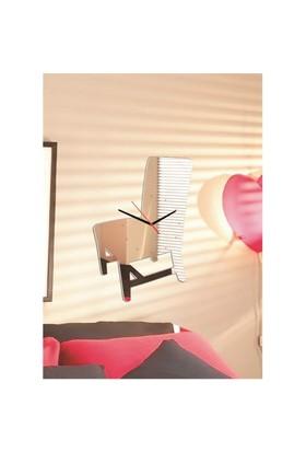 Sandalye Saat Dekoratif Ayna