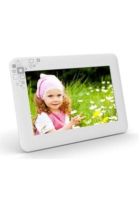 """Goldmaster PF- 665 6"""" LCD Ekran Dijital Fotoğraf Çerçevesi - Beyaz"""