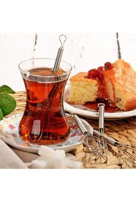 Bluzen Çırpıcı Şeklinde Çay Kaşığı 2'Li