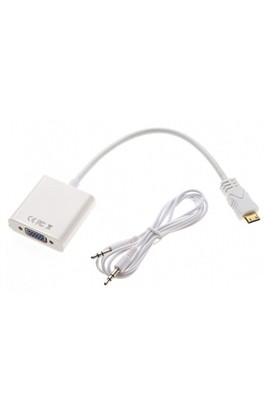Mobee Mini HDMI to VGA Kablo