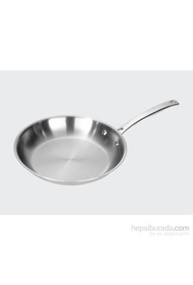 Fontignac Gastro Paslanmaz Çelik Kızartma Tavası 28 Cm