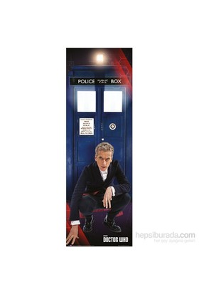 New Doctor & Tardis Door Poster
