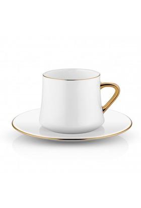 Koleksiyon Sufi Çay Fincan Seti 6Lı Altın