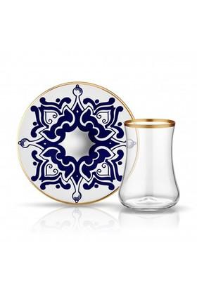 Koleksiyon Dervish Cini Karanfil Çay Seti 6Lı