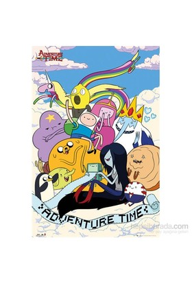 Adventure Time Clouds Maxi Poster