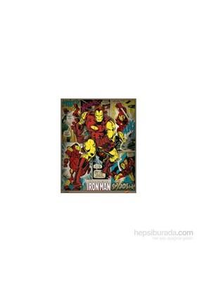 Mini Poster Marvel Comics Iron Man Retro