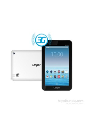"Casper Via T7D-3G Intel Atom Z3735G 16GB 7"" 3G Tablet"