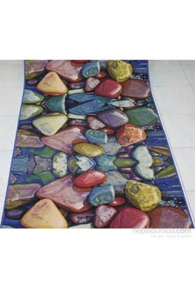 Samur Halı Digi Yolluk Çakıl Taşları 80X200 Cm