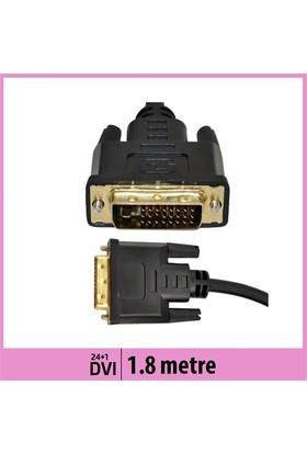 Ti-Mesh 24+1 Pin Dvı Kablo Çift Yönlü Altın Uçlu - 1,8M