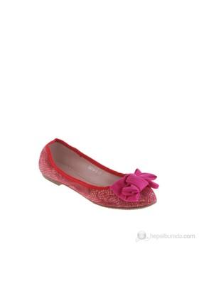 Queen Bee Ll003-Ds014-2 Kadın Babet Kırmızı