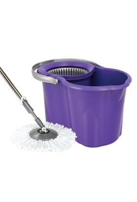 Spin Mop Döner Başlıklı Temizlik Seti