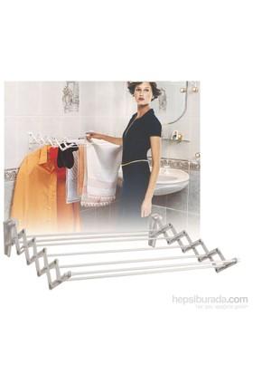 Doğuş Katlanabilir Demirli Çamaşır Askılığı-80 Cm