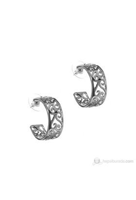 Bigg Barkıel Motif Küpe-Gümüş