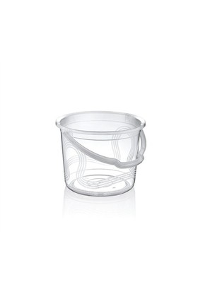 Hobby Life Plastik Temizlik Kovası Şeffaf(13 Lt)
