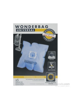 Rowenta Wonderbag Universal Orjinal Toz Torbası (1 Pakette 5 Adet)