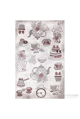 Merinos Mutfak Halısı Gonca 14453-096 80X150