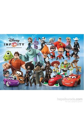 Maxi Poster Disney Infinity Charactar Montage