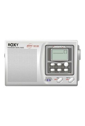 Roxy Rxy-300 10 Band Dijital Göstergeli Dünya Radyosu