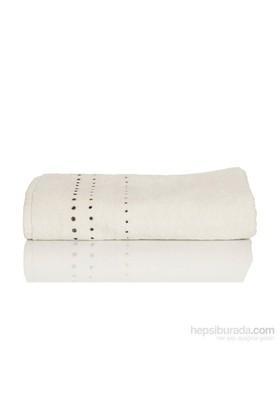 Yastıkminder Beyaz 70X120 Svarowski Taşlı Havlu
