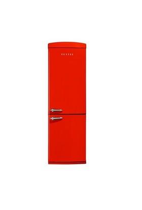 Vestel RETRO NFK350 Kırmızı A+ 350 Lt NoFrost Buzdolabı