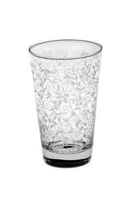 Joy Glass 6'lı Şal Desen Meşrubat Bardağı