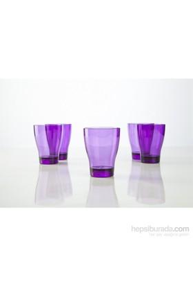 Plabar Kırılmaz Su Bardağı (Mor) 12Li