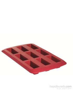 Pyrex Flexi Silikon 9 Bölmeli Muffin Kalıbı Red