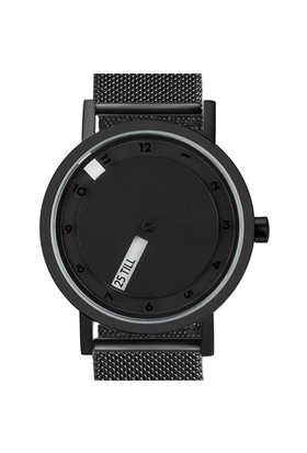 Projects Watches Till Black Mesh Unisex Kol Saati