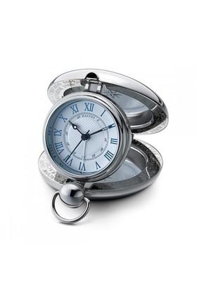Dalvey Beyaz Köstekli Cep Saati Dlv.03251