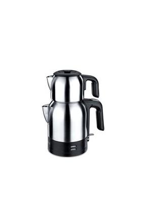 Korkmaz A 359 Demkolik Elektrikli Çaydanlık - Siyah