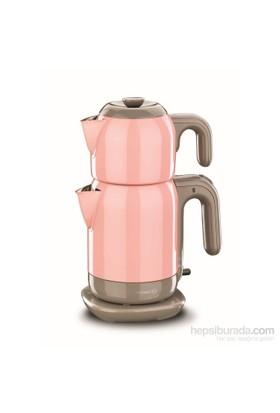 Korkmaz A 369-02 Demtez Elektrikli Çaydanlık Pembe