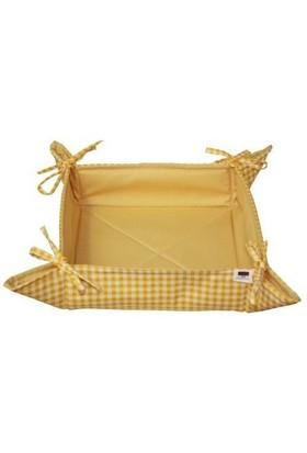 Yastıkminder Sarı Ekmek Sepeti