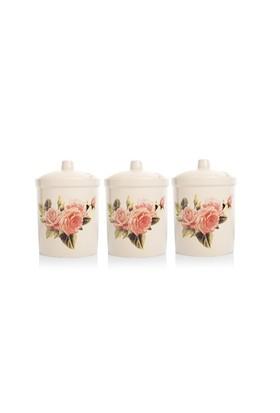 Biev Romantic Rose Saklama Kabı Küçük 3Lü