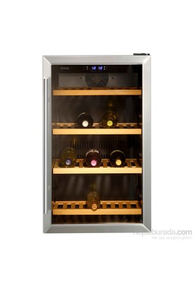Vestel VLP-4000 4 Raf 40 Şişelik Şarap Soğutucusu