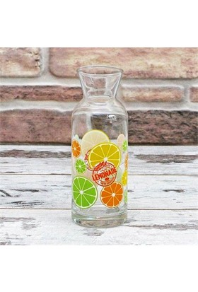 Joy Glass Limon Desenli Karaf