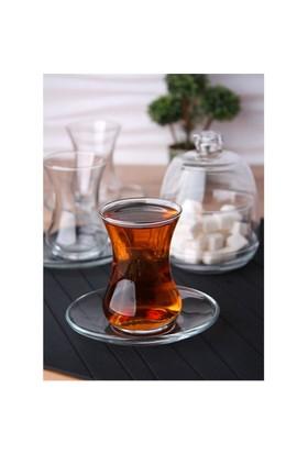 Lav Başak 6Lı Çay Seti-Şekerlik Hediyeli