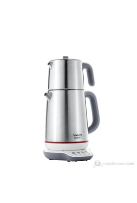 Homend 1709 Royaltea Paslanmaz Çelik Konuşan Çay Makinesi