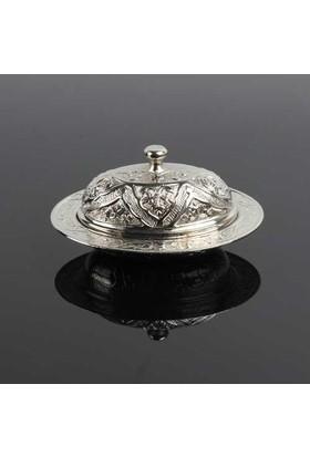Uygun Osmanlı Motifli Lokumluk Gümüş