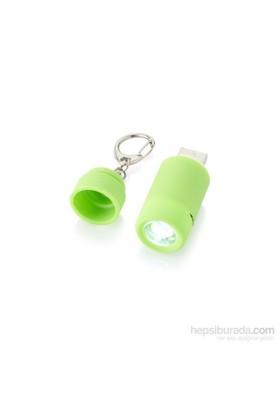 Pf Concept 10413802 Yeşil Mini Fener Anahtarlık