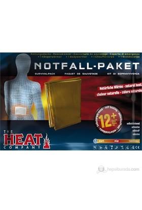 Heat Acil Durum Paketi Termal Battaniye Ve Vücut Isıtıcısı