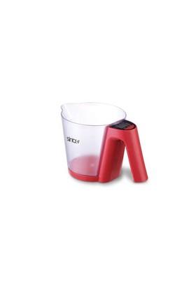 Sinbo SKS-4516 Mutfak Tartısı Kırmızı